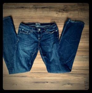Women's Aeropostale Chelsea bootcut 7/8 long jeans